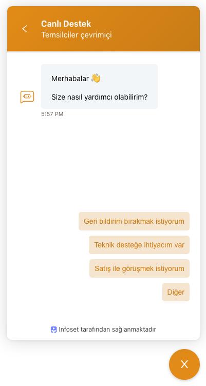 Infoset chatbot
